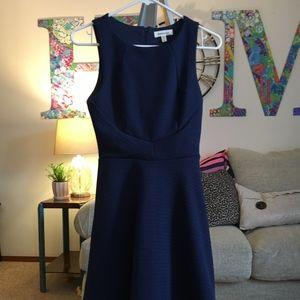 Monteau Navy Blue Dress